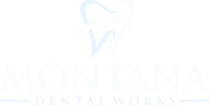 Montana Dental Works logo in white